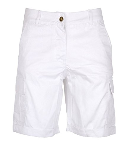 Womens Cotton Combat Canvas Chino Shorts