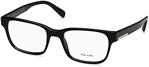 Prada - PRADA PLAQUE PR 06UV, Rechteckig Acetat Herrenbrillen