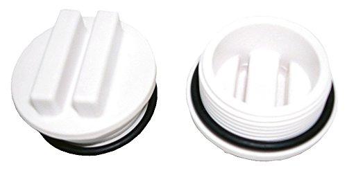 Steinbach Massivpool-Einzelkomponente Winterstoppel, inkl. O-Ring, 1,5 Zoll Außengewinde, Doppelpack, 060910 -