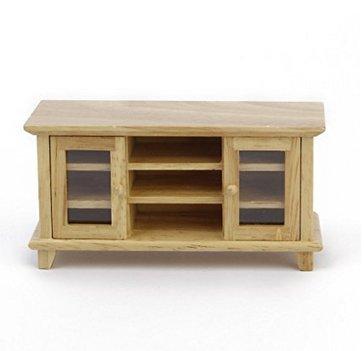 akooya TV Cabinet capanna di DIY mini mobili in legno colore doppia porta