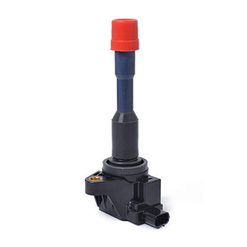 Torretta degli stivali di gomma di riparazione della bobina di accensione per H-onda per Civic per ibrido OEM 30521-PWA-003 UF374 C1408 CM11-108 30521-PWA-S01 - Nero