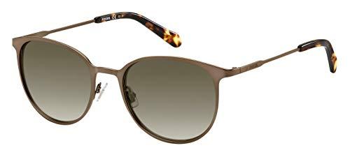 Fossil Damen Fos 3084/S Sonnenbrille, Mehrfarbig (Mtt Brown), 53
