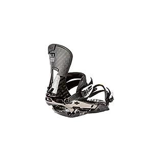 Nitro Snowboards Herren Machine Bdg'19 Premium Freeride Freestye Highend Carving Snowboardbindung Carbon Bindungen