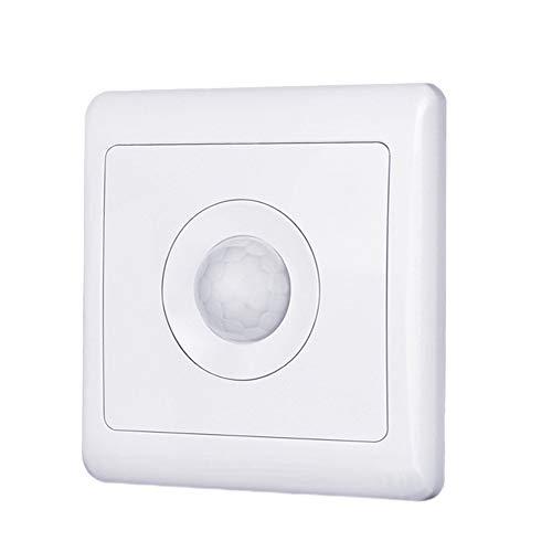 Hemore Sensor de Movimiento automático Interruptor Cuerpo Inducción PIR Detector de Movimiento...