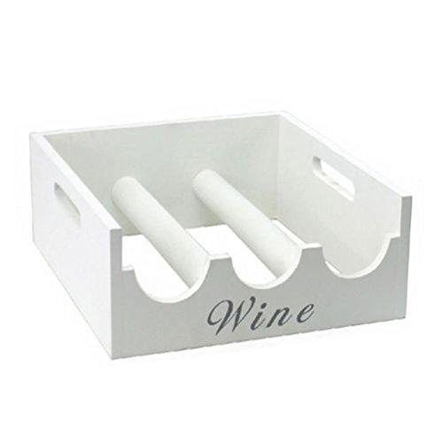 fun-daisy-wine-rack-bottle-holder-storage-kitchen-3-bottles-chic-gift-with-handles