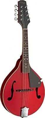 Stagg M20rojo tradicional Bluegrass mandolina–rojo