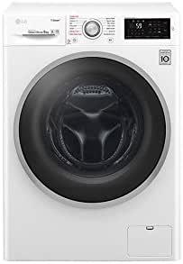 LG F4J6VY1W Libera installazione Carica frontale 9kg 1400Giri/min A+++-20% Bianco lavatrice