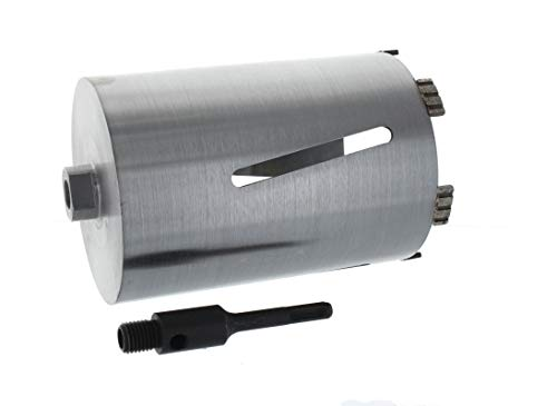 Diamant Bohrkrone SDS-plus Aufnahme Nutzlänge 180 mm Ø 102 mm Betonbohrkrone Kernbohrer