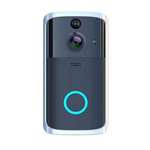 CA&jun Drahtloses HD-sichtbares WiFi-Türklingel-Infrarot-Nachtsicht-Fernüberwachungs-Walkie-Talkie