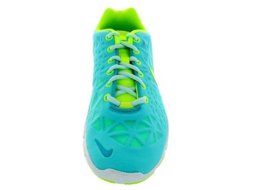 Nike Damen Laufschuh WMNS NIKE FREE TR FIT 3 blau / gelb Blau
