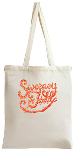 Sweeney Todd red poster Tote Bag Toby Tee