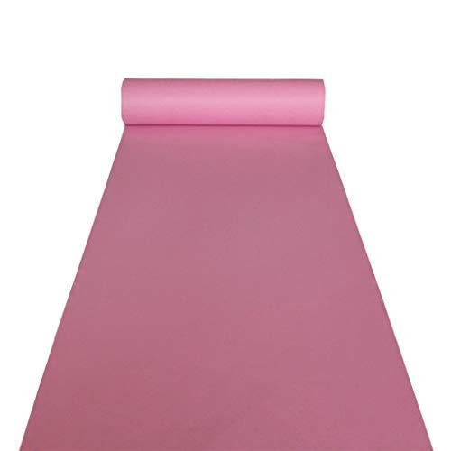 r Pink Carpet Vliesstoff Rutschfeste haltbare Einweg-Teppich in Eröffnungsfeier Hochzeitsausstellung Teppich Pink ()