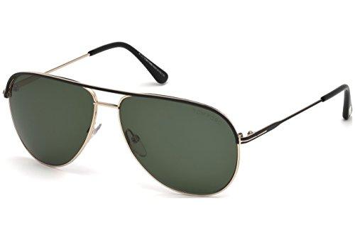 tom-ford-erin-ft-0466-aviateur-metal-homme-black-gold-green05n-f-61-12-140