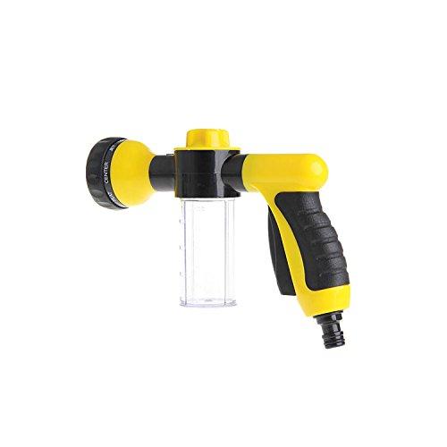 Elektrische Haus-wasser-pumpe (MuZuZi Hochdruck-Spray Gun Home Autowäsche Schnee Foam Wasser Pistole Clean Pipe Waschmaschine Kunststoff(yellow and black))