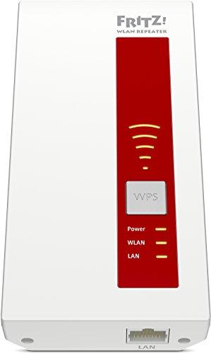 AVM FRITZ!WLAN Repeater 1750E – Dual-WLAN AC + N bis zu 1.300 MBit/s 5 GHz + 450MBit/s 2,4 GHz - 2