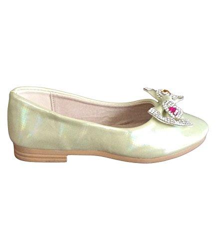 Mädchen Plateau Pumps Rosa Schuhe Ballerina wqPHrw6