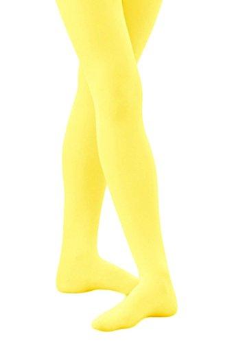Medias amarillas de microfibra