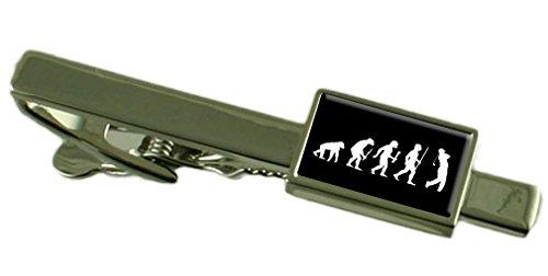 Evolution Affen zum Menschen Golf Tie Clip Wählen Sie Geschenk Tasche (Premier Golf Classic)