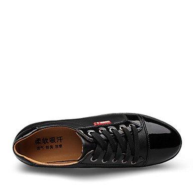 Chaussures d'hommes et de l'emploi de bureau/Party & Soir/occasionnel Oxford Cuir noir/bleu Blue