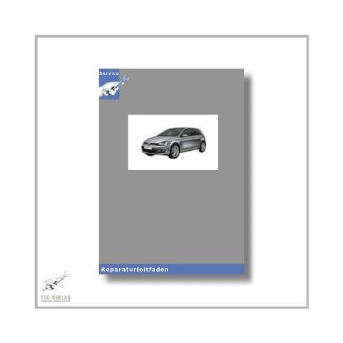 VW Golf VII, Typ 5G (12>) Stromlaufplan / Schaltplan - Reparaturleitfaden [Seitenzahl: 466]