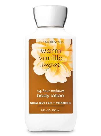 Bath and Body Works Warm Vanilla Sugar Körperlotion 236ml (Body Bath Vanillas Works And)