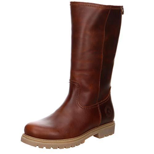 PANAMA JACK Damen Winterstiefel Bambina Igloo,Frauen Winter-Boots,Fellboots,Lammfellstiefel,Fellstiefel,gefüttert,warm,Lederfarben,EU 38