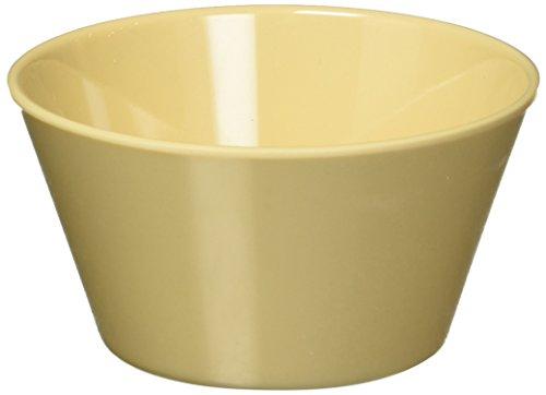 Winco MMB-8 Melamine Bouillon Cup, 8-Ounce, Tan 8 Oz Bouillon