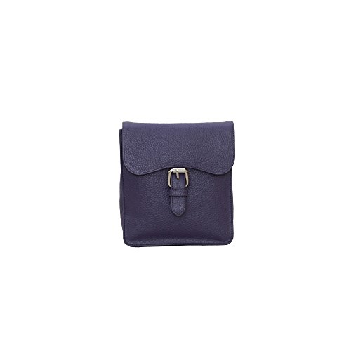 Eastern Counties Leather - Ebony - Borsa a mano stile borsello - Donna Pietra