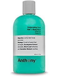 ANTHONY Shampoing Tonifiant + Gel Douche, 355 ml