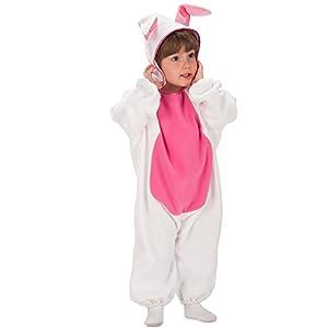 Carnival Toys 63038 - conejito, traje de bebé con capucha, 1-2 años