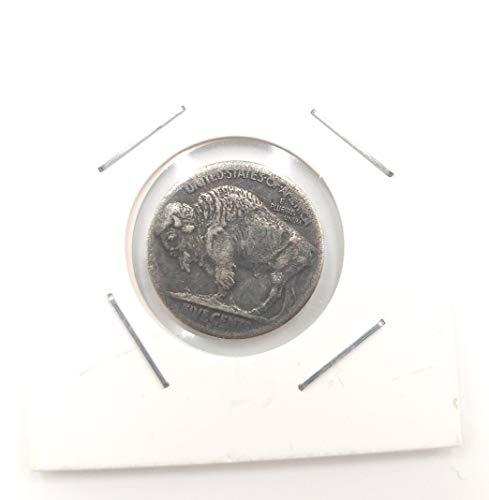 Dreibein-Replik-Münze aus Buffalo-Nickel, Jahr 1937