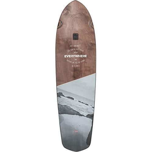 Globe Skateboards Blazer XL Longboard Skateboard Deck, Everywhere, 36