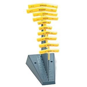 Bondhus 10Balldriver Stiftschlüssel Standard T-Griff Hex Set - Balldriver-hex-tool