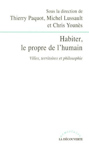 Habiter, le propre de l'humain