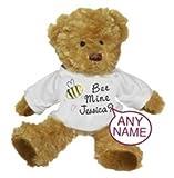 Bee Mine de oso de peluche personalizado ideal Valentines, Boda etc