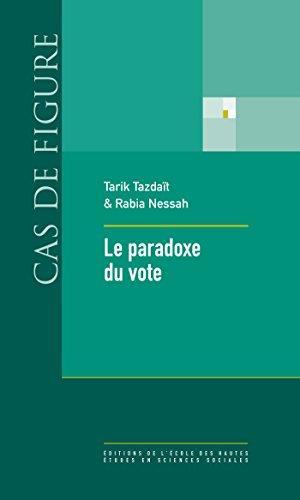 Livres gratuits en ligne Le paradoxe du vote pdf