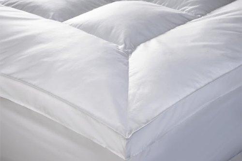 "New ""Rejuvopedic"" 10 cms (4 Inch)Single Bed ""Microlite"" Microfibre Mattress Topper Protector, Box Stitched, 230 TC Cover & Elasticated Corner Straps"