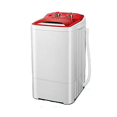 OCYE Lavatrice Portatile compatta, Mini Lavatrice a Vasca Singola con Lavatrice e centrifuga, con Tubo di Scarico