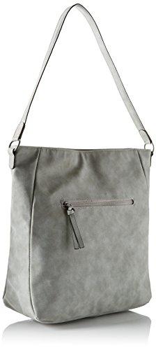 Tamaris - Twiggy Hobo Bag, Borsa a spalla Donna Grigio (grigio)