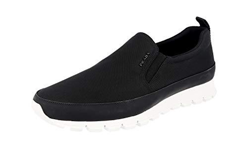 Prada 4D2991 OQ6 F0002, Herren Sneaker, Schwarz - schwarz - Größe: 42 EU
