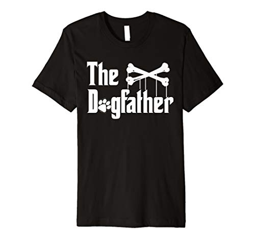 Shirt The Dogfather Hunde-T-Shirt   Funny Vater 's Day Dad Tee -