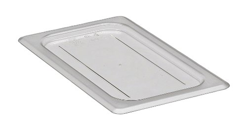 Camwear Clear One Fourth Size Flat Cover Only for Food Pan Camwear Food Pan Cover