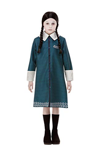 Disfraz oficial de Miércoles de la familia Addams, de Smiffys 52235L