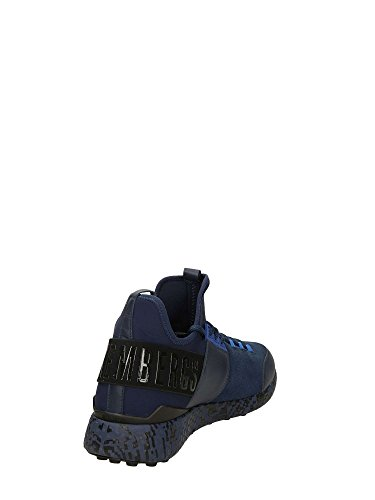 Bikkembergs BKE108839 Baskets Basses Homme Bleu