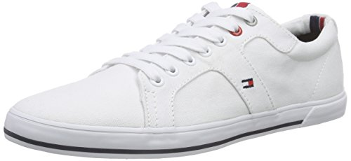 Tommy Hilfiger Harry 9D, Herren Sneakers, Weiß (White_100), 43 EU