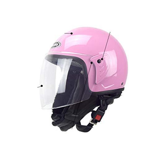 CCMUP Motorrad-Helm, tragbar, wind- und warm, Elektro-Helm, Skelett-Helm, Halbbeschichtung für den Winter