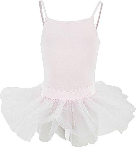 Capezio Kinder N9814C Unterhemd Tutu Tanzkleid - Rosa, Mädchen, 12- 14 (Mädchen Tutus)