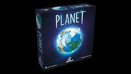Blue Orange Planet Board Game BLOD0016, Blau, Bunt, Mehrfarbig