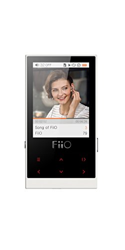 FiiO M3 8 GB Portable Digital Music Player with Earphones - White