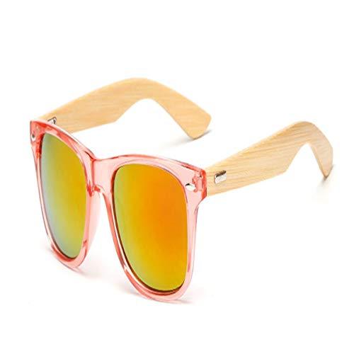 Sport-Sonnenbrillen, Vintage Sonnenbrillen, 17 Color Wood Sunglasses Men Women Square Bamboo Women For Women Men Mirror Sun Glasses Retro De Sol Masculino Handmade KP1501 C12